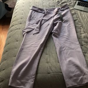 LOFT petite purple pants- NEW WITH TAGS
